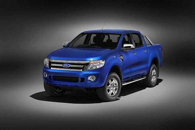 imagem foto nova ford ranger 2012
