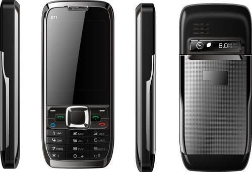 imagem foto celular e71 com tv camera dois chips