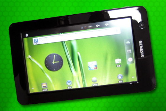 imagem foto tablet genesis gt7104