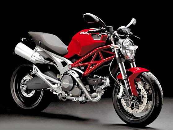imagem foto moto ducati monster 696 frente