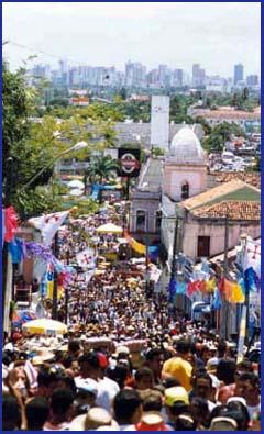 imagem foto carnaval olinda pernambuco