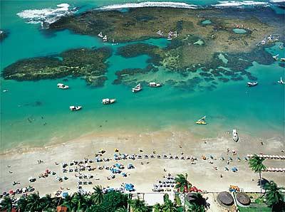 imagem foto praia de porto de galinhas pernambuco