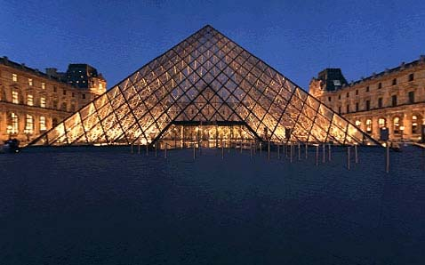 imagem foto museu louvre paris frança