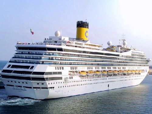 imagem foto navio cruzeiro