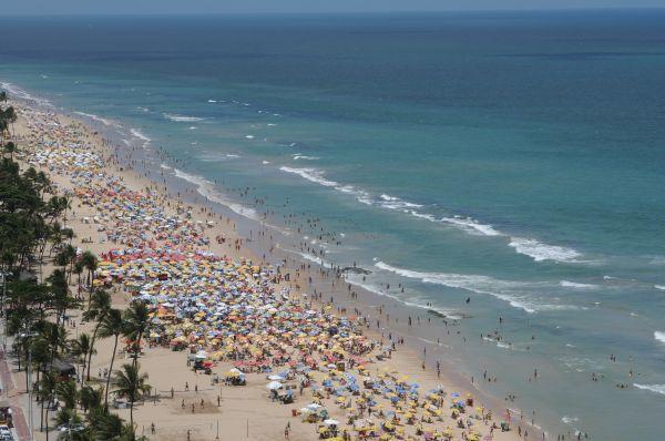 imagem foto recife pernambuco praia de boa viagem outra